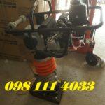 Máy đầm cóc chạy xăng giá rẻ Honda HCD80, động cơ GX160 Thái Lan