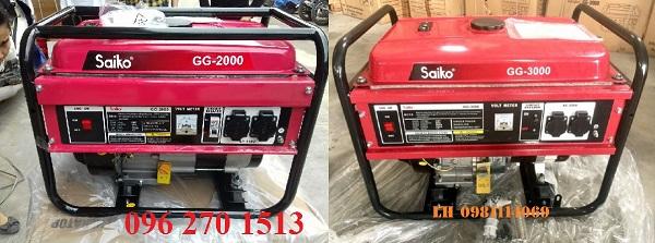 Đặc điểm nổi bật của máy phát điện Saiko GG2000 và GG3000