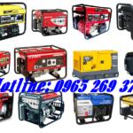 Máy phát điện gia đình giá rẻ – bền – tiết kiệm nhiên liệu