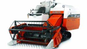 máy gặt đập liên hoàn kubota dc60
