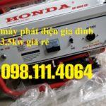 Bán máy phát điện Honda 4500EX cho gia đình giá rẻ nhất thị trường