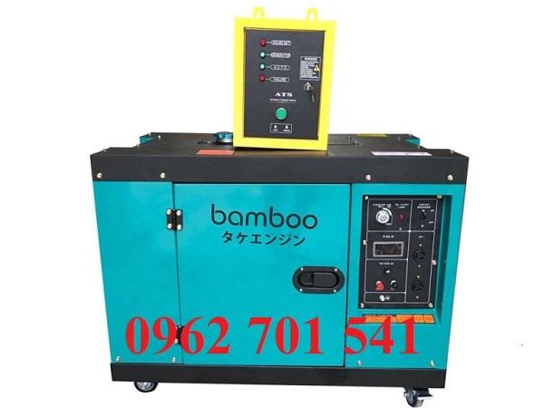 Máy phát điện Bamboo 7kw có đủ công suất cho tất cả các thiết bị điện gia đình