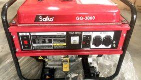 Máy phát điện Saiko GG3000 công suất 3 - 3,3 kw