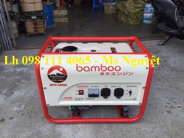 Máy phát điện chạy dầu Bamboo 3kW