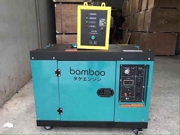 Những ưu điểm nổi bật của máy phát điện Bamboo chạy dầu