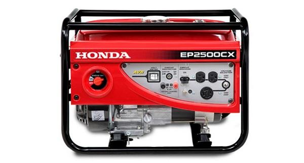 Thông số chi tiết của máy phát điện Honda EP 2500CX