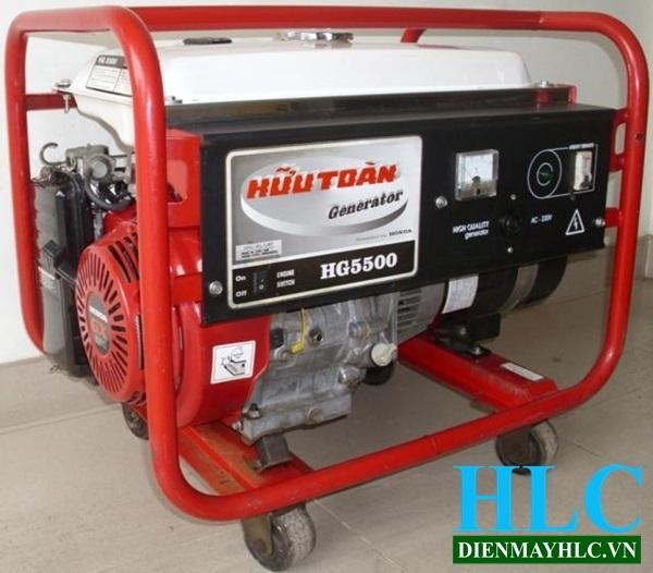 Thông số kỹ thuật của máy phát điện Honda HG5500