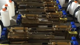 Tổng kho máy phun thuốc dạng khói HLC 250