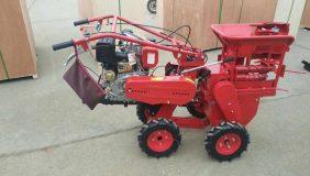 máy thu hoạch bắp thế hệ mới