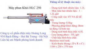 May phun khoi HLC 250
