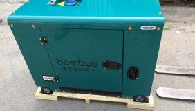 máy phát điện bamboo 5,5 kw