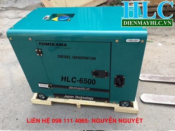 Máy phát điện chạy dầu Tomikama 5kw