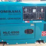 Máy phát điện chạy dầu chống ồn 5Kw giá rẻ tại Hà Nội