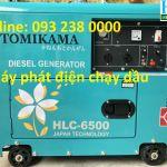 Máy phát điện chạy dầuTomikama HLC 6500 , HLC 8500 công suất 5kva, 7Kva thương hiệu nổi tiếng được ưa chuộng nhất trên thị trường