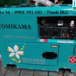 Địa chỉ bán máy phát điện chống ồn tomikama HLC 8500 made in Japan