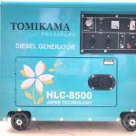 Máy phát điện chạy dầu, máy cắt cỏ, máy bơm nước thương hiệu Tomikama