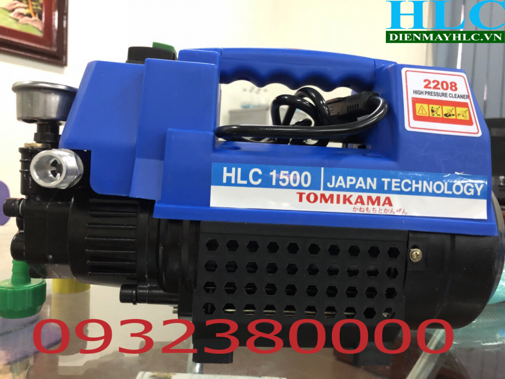 máy xịt rửa xe tomikama HLC 1500