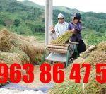 bán máy tuốt lúa, máy tuốt lúa đạp chân TDC218