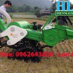 Bán máy gặt đập liên hoàn mini 4LZ-08 nhỏ gọn – uy tín – tiết kiệm