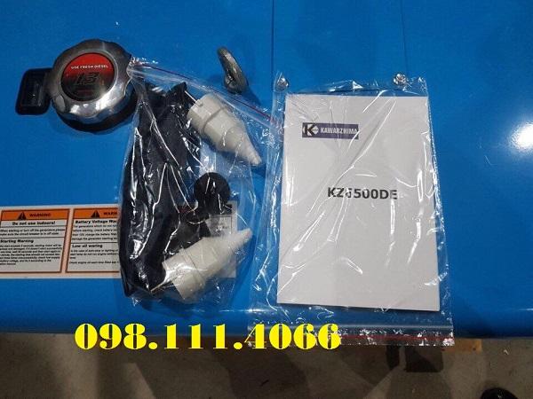 Phụ tùng máy phát điện chạy dầu 5kw Kawarzhima KZ6500DE