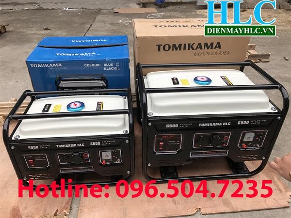 Máy phát điện chạy xăng Tomikama 4500 phù hợp sử dụng cho mọi gia đình