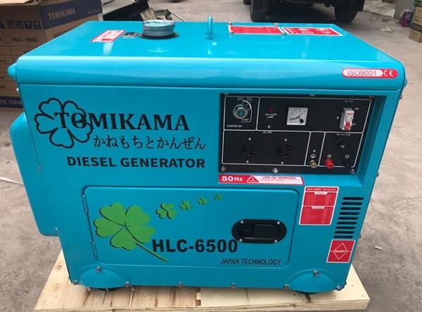 Máy phát điện được sử dụng để cung cấp điện cho trường hợp mất điện đột ngột