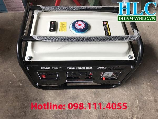 Máy phát điện chạy xăng Tomikama HLC-2500