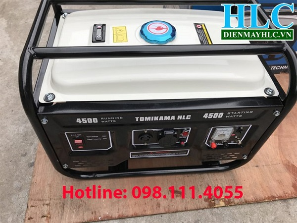 Máy phát điện chạy xăng Tomikama HLC-4500