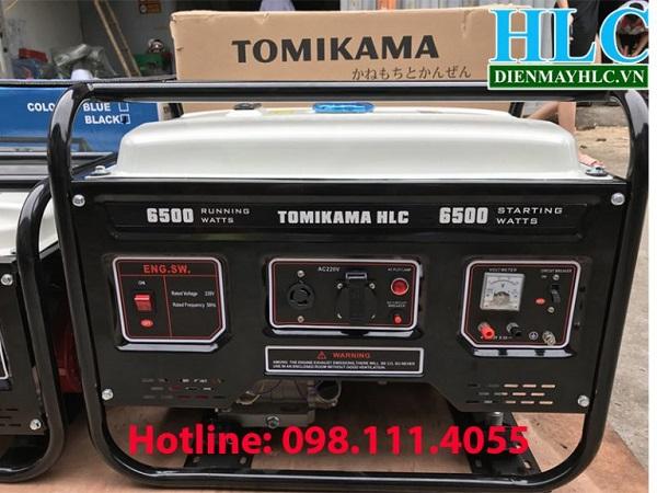 Máy phát điện chạy xăng Tomikama HLC-6500