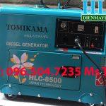 Máy phát điện chạy dầu Tomikama HLC 8500 công suất định mức 7kva