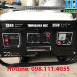 Giới thiệu máy phát điện chạy xăng Tomikama HLC-2500 công suất đủ