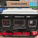 Máy phát điện chạy xăng Tomikama HLC 6500 ưu đãi giảm giá