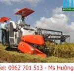 Máy gặt đập liên hợp KUBOTA DC 70 – Hoàng Long