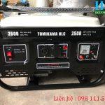Giới thiệu máy phát điện chạy xăng 2kw thương hiệu tomikama 2500