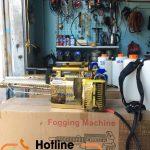 Cách sử dụng máy phun sương phòng dịch Hoàng Long HLC 250
