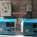 Máy phát điện chạy dầu có đề giá tốt tại Hà Nội