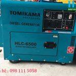 Giới thiệu máy phát điện gia đình chạy dầu tomikama chính hãng