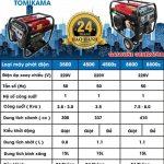Máy phát điện chạy xăng mini giá rẻ – Điện Máy Hoàng Long