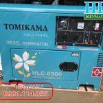 Cung cấp dự án lớn nhỏ toàn quốc Máy phát điện chạy dầu Tomikama 5kw, 7kw giá tốt
