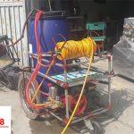 Giới thiệu máy phun thuốc trừ sâu tự chế có bánh xe di chuyển