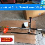 Máy cắt cỏ 2 thì giá rẻ Tomikama Nhật Bản