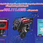 Máy phát điện gia đình tại Hà Nội chính hãng giá rẻ