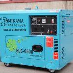 Mẫu Máy phát điện chạy dầu Tomikama mới năm 2020 – công suất đủ 5kw và 7kw giá tốt