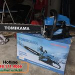 Những công dụng của máy cưa gỗ chạy xăng Tomikama 5900 mà bạn chưa biết.