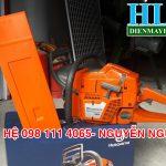 Tìm hiểu về cấu tạo máy cưa xích Husqvarna 365 chạy xăng