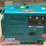 Máy phát điện chạy dầu 5kw, 7kw Tomikama cách âm chống ồn