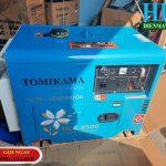 Máy phát điện Tomikama chạy dầu chính hãng thương hiệu đến từ Nhật