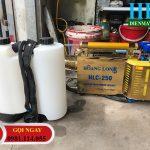 Bao giá bao chất khi dùng Máy phun khói diệt trùng Hoàng Long HLC 250 – giá tốt toàn quốc