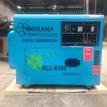 Máy phát điện chạy dầu Tomikama 6500 công suất 5kw mới nhất