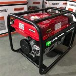 Mẫu Máy phát điện chạy xăng Tomikama mini 4500 mới năm 2020 – công suất 3,5kw dùng cho gia đình